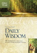 Pdf The One Year Daily Wisdom Telecharger