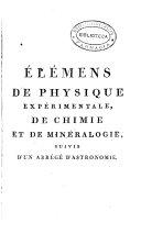 Élémens de physique expérimentale