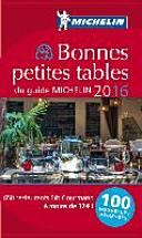 MICHELIN Bonnes petites tables du guide 2016