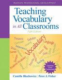 Teaching Vocabulary in All Classrooms Pdf/ePub eBook