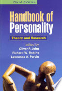 Handbook Of Personality Book
