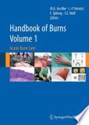 Handbook of Burns Volume 1 Book