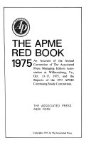 The APME Red Book