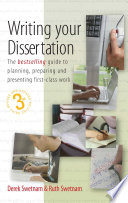 Writing Your Dissertation  3rd Edition