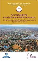 Gouvernance et développement humain (Volume 2)