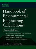 Handbook of Environmental Engineering Calculations 2nd Ed  Book