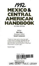 Mexico   Central American Handbook