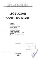 Legislación social boliviana