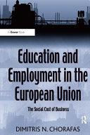 Education and Employment in the European Union Pdf/ePub eBook