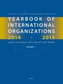 Yearbook Of International Organizations 2014 2015 Volumes 1a 1b Set