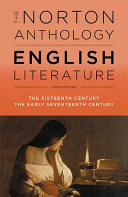 link to The Norton Anthology of English Literature Vol. B in the TCC library catalog