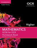 GCSE Mathematics for OCR Higher Homework Book