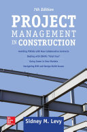 Project Management in Construction, Seventh Edition [Pdf/ePub] eBook