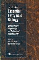 Handbook of Essential Fatty Acid Biology Pdf/ePub eBook