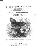 Birds and Insects  Dialogues in prose and verse     With thirty engravings  etc