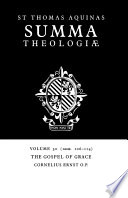 Read Online Summa Theologiae: Volume 30, The Gospel of Grace For Free