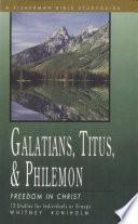 Galatians  Titus   Philemon