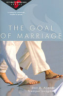 The Goal of Marriage Book