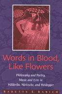 Words in Blood, Like Flowers