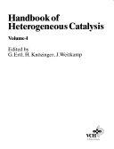 Handbook of Heterogeneous Catalysis Book