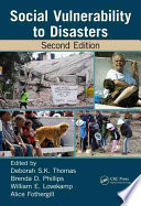 Social Vulnerability To Disasters Second Edition