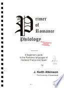 A Primer of Romance Philology