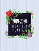 2019 2020 Monthly Planner