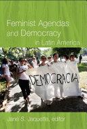 Pdf Feminist Agendas and Democracy in Latin America Telecharger