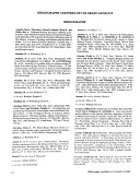 Bibliography and Index of Colorado Geology