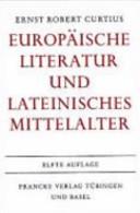 Europäische Literatur und lateinisches Mittelalter