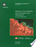 Indicators of Land Quality and Sustainable Land Management