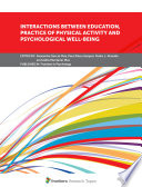 Interactions Between Education  Practice of Physical Activity and Psychological Well Being