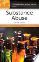 Substance Abuse A Reference Handbook 2nd Edition