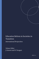 Education Reform in Societies in Transition