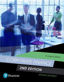 Cover of Corporate Finance (Custom Edition)