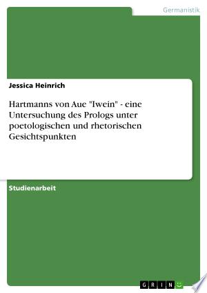 [pdf - epub] Hartmanns von Aue