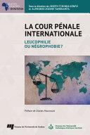 Pdf La Cour pénale internationale Telecharger