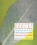 Modern English Structures Workbook   Second Edition