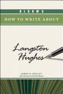 Bloom s How to Write about Langston Hughes