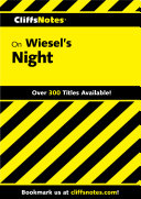 CliffsNotes on Wiesel's Night ebook