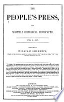 The People S Press And Monthly Historical Newspaper Book PDF