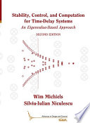 Stability  Control  and Computation for Time Delay Systems