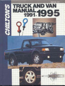 Chilton s Truck and Van Manual  1991 1995 Book
