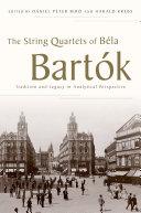 Pdf The String Quartets of Béla Bartók Telecharger