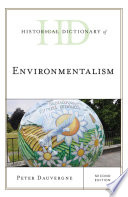 Historical Dictionary of Environmentalism Book
