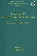 Kierkegaard and His Danish Contemporaries: Literature, drama, and aesthetics