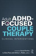 Adult ADHD-Focused Couple Therapy [Pdf/ePub] eBook