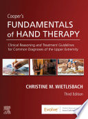 Cooper S Fundamentals Of Hand Therapy E Book Book PDF