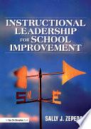 Instructional Leadership for School Improvement