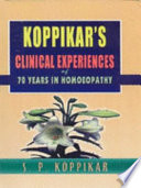 Clinical Experiences of 70 Years in Homoeopathy
